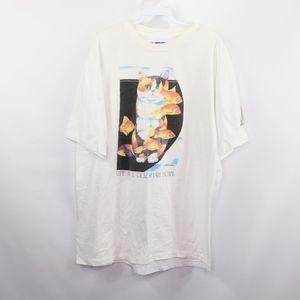 90s Mens XL Barbara Wallace Goldfish Bowl T Shirt